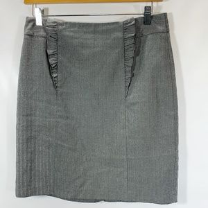 Banana Republic Skirt Herringbone Straight Career